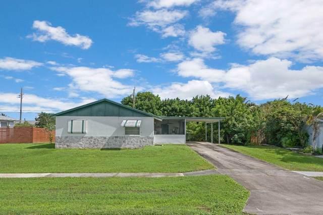 436 San Fernando Drive, Palm Springs, FL 33461 (MLS #RX-10666437) :: Berkshire Hathaway HomeServices EWM Realty
