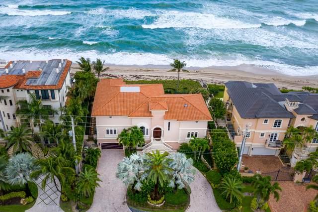 3905 S Ocean Boulevard, Highland Beach, FL 33487 (#RX-10666562) :: Posh Properties