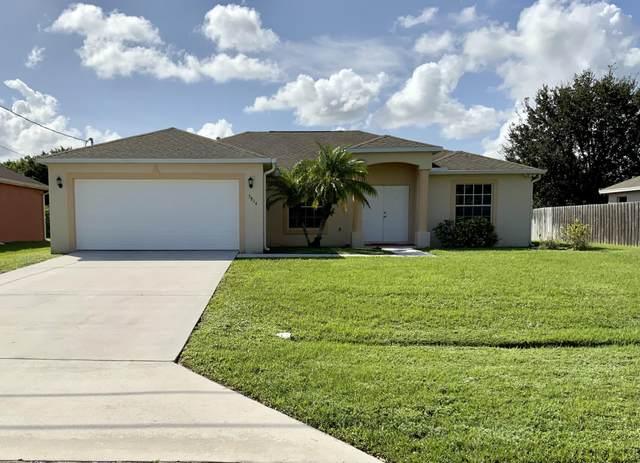 3814 SW Lafleur Street, Port Saint Lucie, FL 34953 (#RX-10666742) :: Manes Realty Group