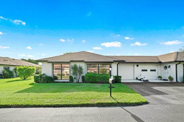 4777 Storkwood Road A, Boynton Beach, FL 33436 (MLS #RX-10667248) :: Berkshire Hathaway HomeServices EWM Realty