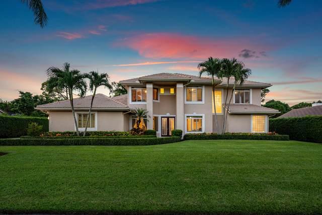 4507 Gleneagles Drive, Boynton Beach, FL 33436 (MLS #RX-10667502) :: Berkshire Hathaway HomeServices EWM Realty
