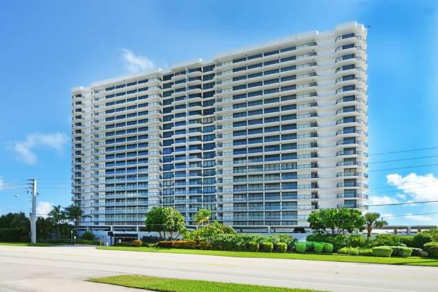 250 S Ocean Boulevard 4F, Boca Raton, FL 33432 (MLS #RX-10667513) :: United Realty Group
