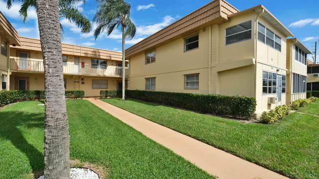 222 Saxony E, Delray Beach, FL 33446 (MLS #RX-10667608) :: Berkshire Hathaway HomeServices EWM Realty