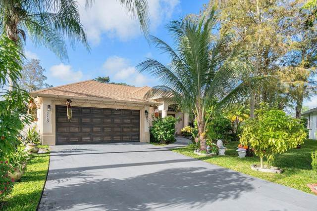 218 Park Road N, Royal Palm Beach, FL 33411 (MLS #RX-10667676) :: THE BANNON GROUP at RE/MAX CONSULTANTS REALTY I