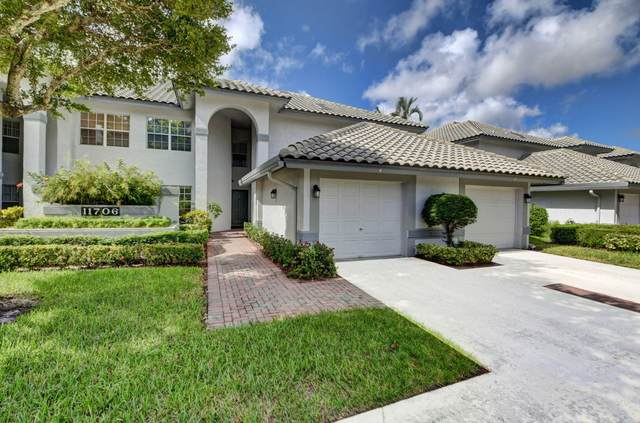 11706 Briarwood Circle #2, Boynton Beach, FL 33437 (MLS #RX-10667754) :: Miami Villa Group