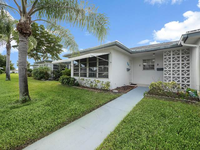 1070 North Drive C, Delray Beach, FL 33445 (MLS #RX-10667930) :: Berkshire Hathaway HomeServices EWM Realty