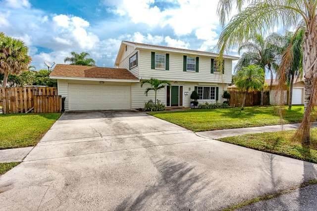 900 NW 17th Avenue, Boca Raton, FL 33486 (MLS #RX-10668174) :: Laurie Finkelstein Reader Team