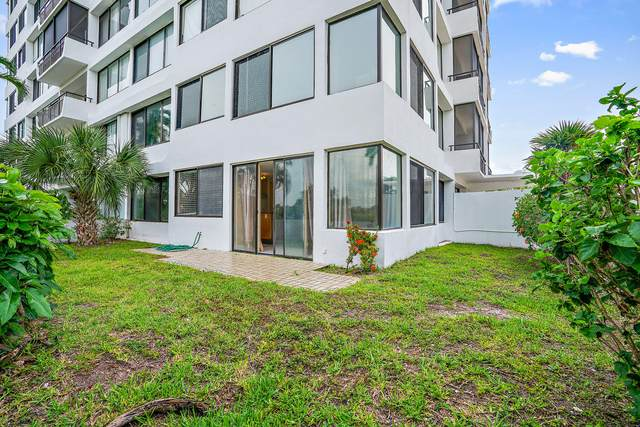 1500 Presidential Way #101, West Palm Beach, FL 33401 (MLS #RX-10668236) :: Berkshire Hathaway HomeServices EWM Realty