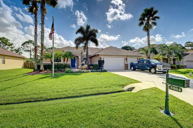 5804 NW Breezy Brook Court, Port Saint Lucie, FL 34986 (MLS #RX-10668342) :: Laurie Finkelstein Reader Team