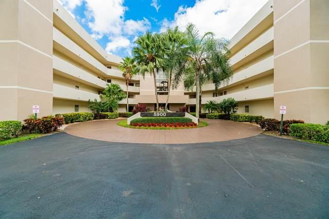 5900 Camino Del Sol #200, Boca Raton, FL 33433 (MLS #RX-10668734) :: Berkshire Hathaway HomeServices EWM Realty