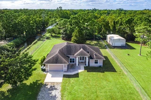 2225 N 162nd Drive N, Loxahatchee, FL 33470 (MLS #RX-10668775) :: Berkshire Hathaway HomeServices EWM Realty