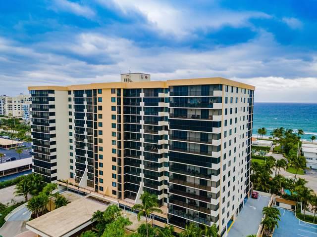 3400 S Ocean Boulevard 12L, Highland Beach, FL 33487 (#RX-10668789) :: Posh Properties