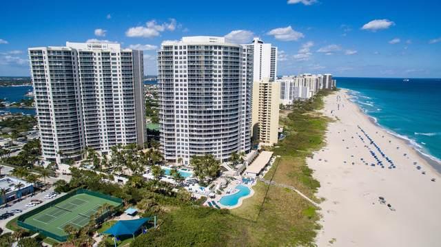 2700 N Ocean Drive 302A, Singer Island, FL 33404 (MLS #RX-10668927) :: Berkshire Hathaway HomeServices EWM Realty