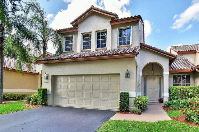 23449 Water Circle ., Boca Raton, FL 33486 (MLS #RX-10668997) :: THE BANNON GROUP at RE/MAX CONSULTANTS REALTY I