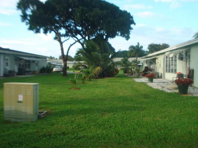 637 High Point Drive C, Delray Beach, FL 33445 (MLS #RX-10669133) :: Berkshire Hathaway HomeServices EWM Realty