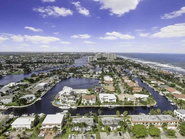 1101 Bel Air Drive A, Highland Beach, FL 33487 (#RX-10669305) :: Ryan Jennings Group