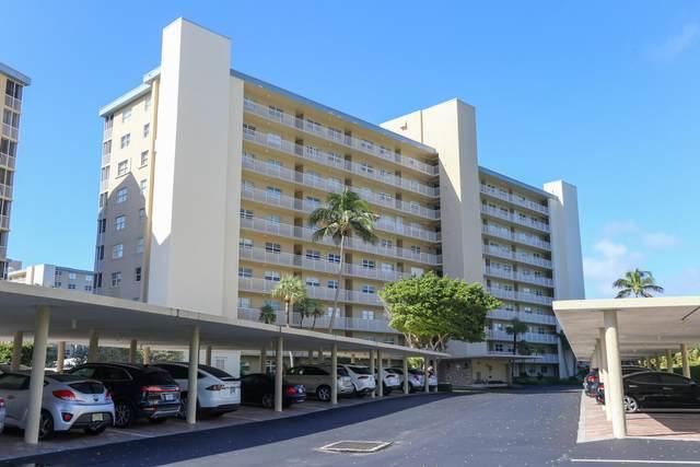 3212 S Ocean Boulevard 206-A, Highland Beach, FL 33487 (#RX-10669411) :: Posh Properties