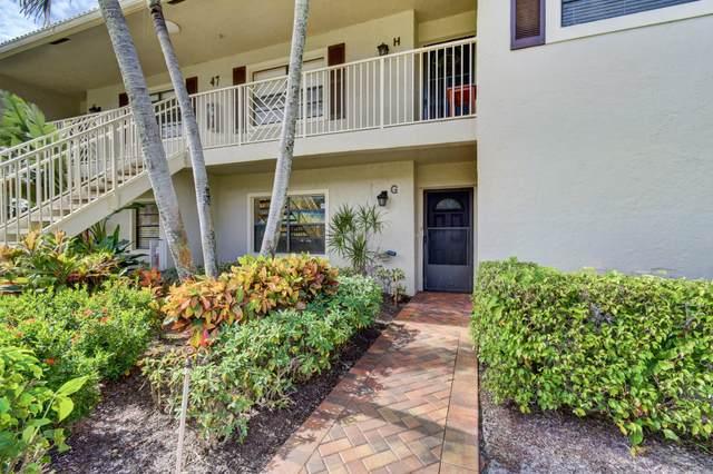 47 Stratford Lane G, Boynton Beach, FL 33436 (MLS #RX-10669635) :: Berkshire Hathaway HomeServices EWM Realty
