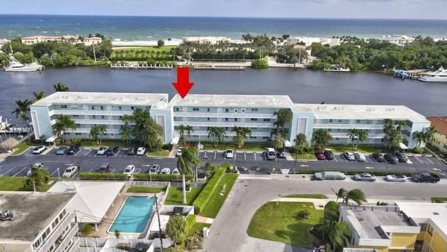 2772 NE 30th Avenue 8A, Lighthouse Point, FL 33064 (MLS #RX-10669899) :: Berkshire Hathaway HomeServices EWM Realty