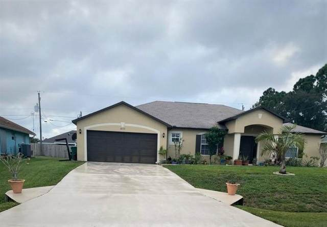 1077 SW Bay State Road, Port Saint Lucie, FL 34953 (MLS #RX-10670004) :: THE BANNON GROUP at RE/MAX CONSULTANTS REALTY I