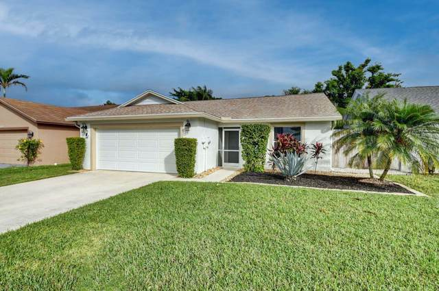 5129 Arbor Glen Circle, Lake Worth, FL 33463 (MLS #RX-10670014) :: THE BANNON GROUP at RE/MAX CONSULTANTS REALTY I