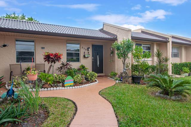 335 Golden River Drive #335, West Palm Beach, FL 33411 (MLS #RX-10670100) :: Berkshire Hathaway HomeServices EWM Realty