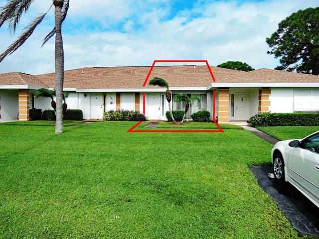 1212 S Lakes End Drive C, Fort Pierce, FL 34982 (MLS #RX-10670123) :: Berkshire Hathaway HomeServices EWM Realty