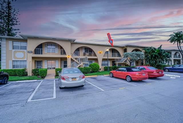13960 Via Flora G, Delray Beach, FL 33484 (MLS #RX-10670248) :: Berkshire Hathaway HomeServices EWM Realty