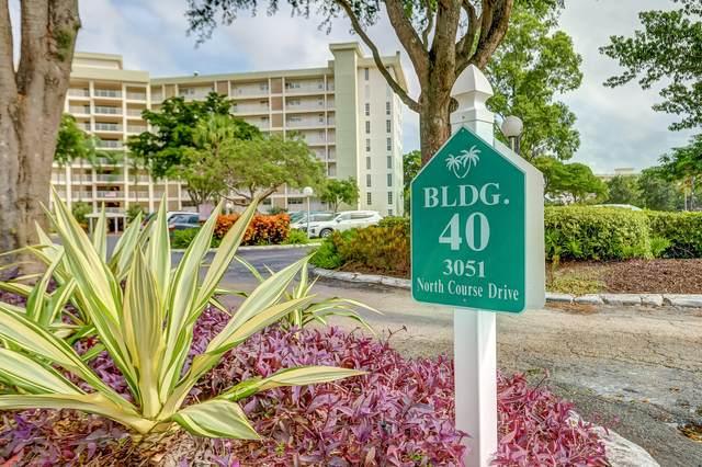 3051 N Course Dr #209, Pompano Beach, FL 33069 (MLS #RX-10670299) :: Berkshire Hathaway HomeServices EWM Realty
