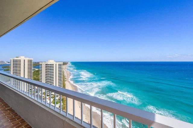 5510 N Ocean Drive 22-A, Singer Island, FL 33404 (#RX-10670467) :: Posh Properties