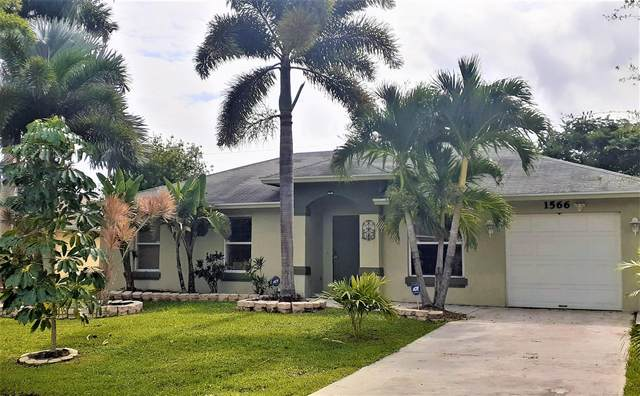 1566 SW Medley Lane, Port Saint Lucie, FL 34953 (MLS #RX-10670702) :: THE BANNON GROUP at RE/MAX CONSULTANTS REALTY I