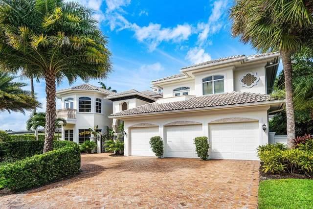 621 Golden Harbour Drive, Boca Raton, FL 33432 (MLS #RX-10670709) :: Laurie Finkelstein Reader Team