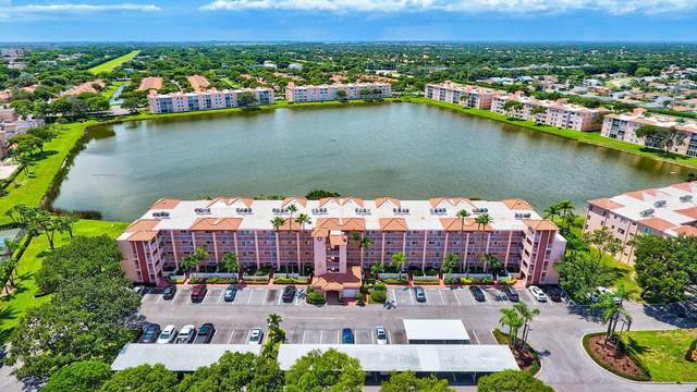 6080 Huntwick Terrace #202, Delray Beach, FL 33484 (MLS #RX-10670874) :: Berkshire Hathaway HomeServices EWM Realty