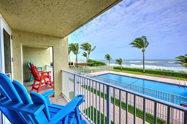9800 S Ocean Drive #205, Jensen Beach, FL 34957 (#RX-10671248) :: Posh Properties