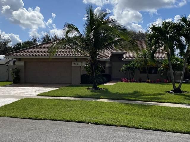 9363 Laurel Green Drive, Boynton Beach, FL 33437 (MLS #RX-10671640) :: Miami Villa Group