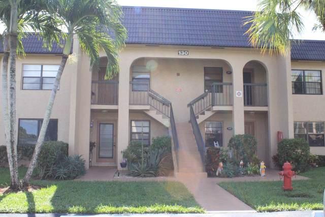 130 Lake Nancy Drive #105, West Palm Beach, FL 33411 (MLS #RX-10671704) :: Berkshire Hathaway HomeServices EWM Realty
