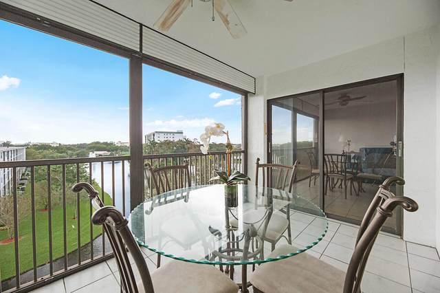 2238 N Cypress Bend Drive #602, Pompano Beach, FL 33069 (#RX-10671838) :: Posh Properties