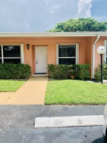1610 NW 18th Avenue 96-C, Delray Beach, FL 33445 (#RX-10671861) :: Posh Properties