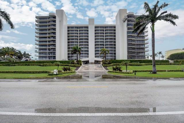 2727 S Ocean Boulevard #804, Highland Beach, FL 33487 (MLS #RX-10671990) :: Castelli Real Estate Services
