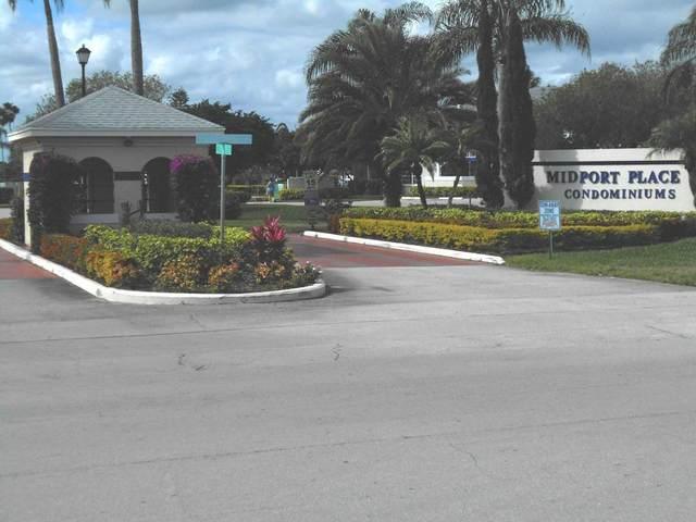 1524 SE Royal Green Circle #102, Port Saint Lucie, FL 34952 (MLS #RX-10672048) :: Berkshire Hathaway HomeServices EWM Realty