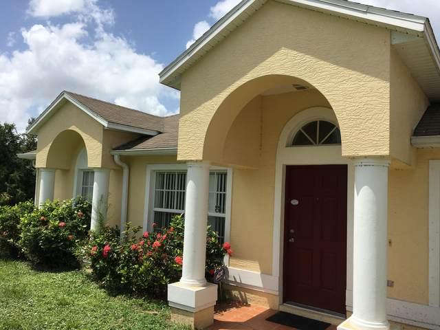 1373 SW California Boulevard, Port Saint Lucie, FL 34953 (MLS #RX-10672303) :: Berkshire Hathaway HomeServices EWM Realty