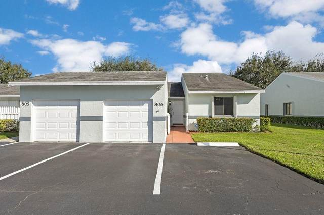 2640 W Gately Drive #806, West Palm Beach, FL 33415 (MLS #RX-10672354) :: Castelli Real Estate Services