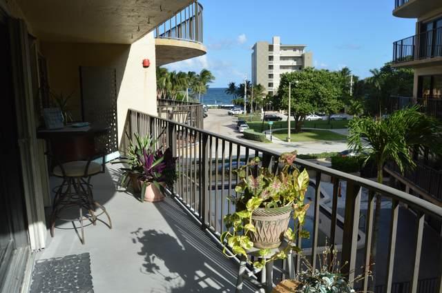 2029 N Ocean Boulevard #311, Fort Lauderdale, FL 33305 (MLS #RX-10672423) :: Berkshire Hathaway HomeServices EWM Realty