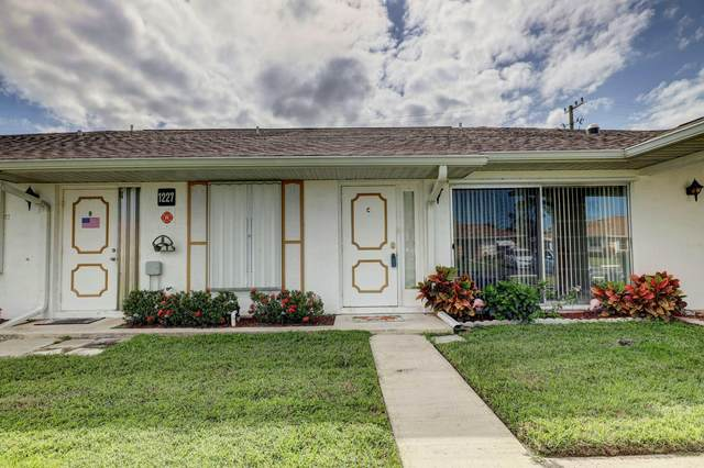 1227 S Lakes End Drive Apt C, Fort Pierce, FL 34982 (MLS #RX-10672443) :: Berkshire Hathaway HomeServices EWM Realty