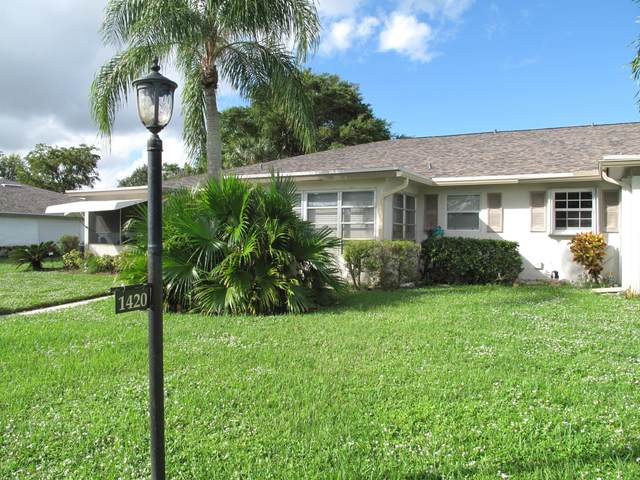 1420 High Point Way SW B, Delray Beach, FL 33445 (#RX-10672536) :: Realty One Group ENGAGE