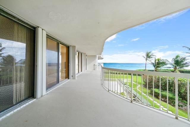 3300 S Ocean Boulevard 301S, Palm Beach, FL 33480 (MLS #RX-10672634) :: Castelli Real Estate Services