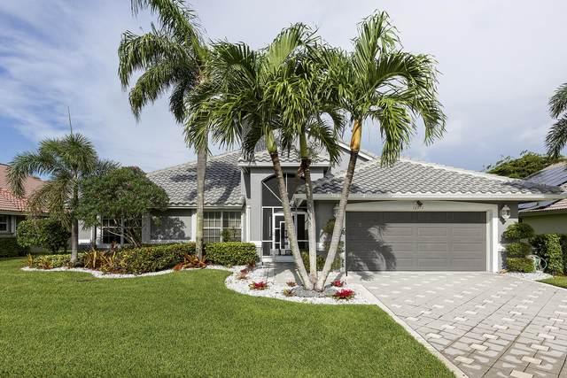 12371 Divot Drive, Boynton Beach, FL 33437 (MLS #RX-10672688) :: Laurie Finkelstein Reader Team