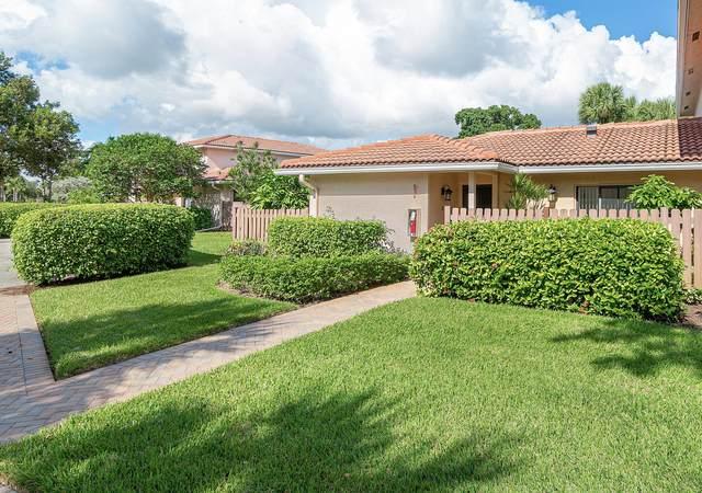 25 Southport Lane A, Boynton Beach, FL 33436 (MLS #RX-10672798) :: Berkshire Hathaway HomeServices EWM Realty