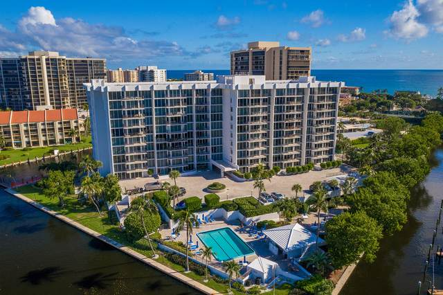 4750 S Ocean Boulevard #809, Highland Beach, FL 33487 (MLS #RX-10672861) :: Castelli Real Estate Services