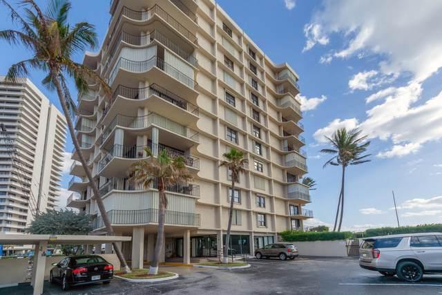 5480 N Ocean Drive A-1-A, Singer Island, FL 33404 (#RX-10672991) :: Posh Properties
